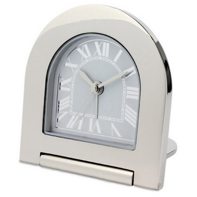 Image of Rome metal alarm clock
