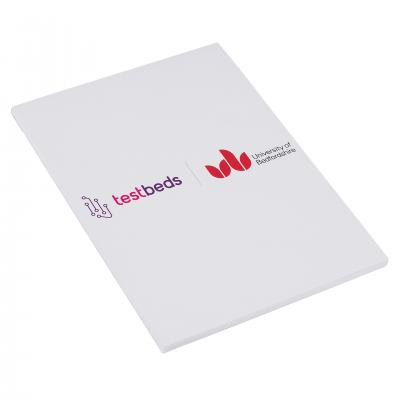 Image of Recycled Covered Notepad A5
